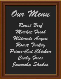 Coupon Menu